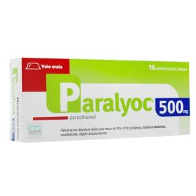 Paralyoc 500 mg Paracétamol