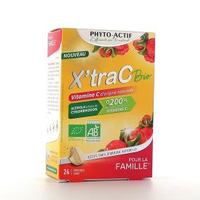 Phyto-Actif XTRA C Bio AB 24 comprimés
