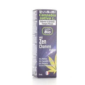 PhytoCosmo WBZ Sérum Zen Chanvre Bio Roll-on 5 ml