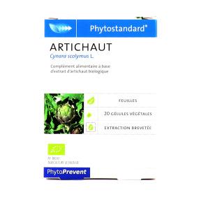 Phytostandard d'Artichaut 20 gélules