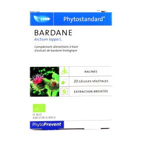 Phytostandard de bardane 20 gélules