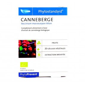 Phytostandard de Canneberge 20 gélules