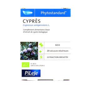 Phytostandard de Cyprès 20 gélules