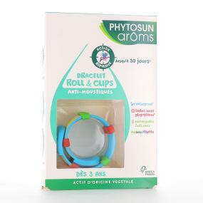 Phytosun Aroms Bracelet Roll & Clips Anti-moustiques