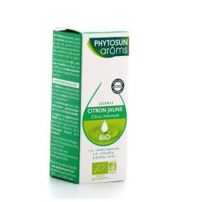 Phytosun Arôms Huile essentielle Citron jaune BIO