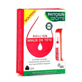 Phytosun Aroms Roll'on Maux de Tête 5 ml