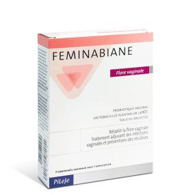 PILEJE Feminabiane Flore Vaginale 7 comprimés vaginaux
