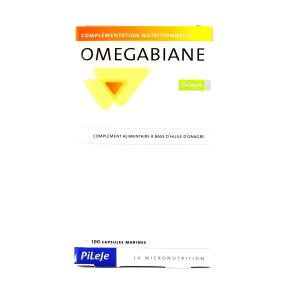 Pileje Omegabiane huile onagre 100 capsules