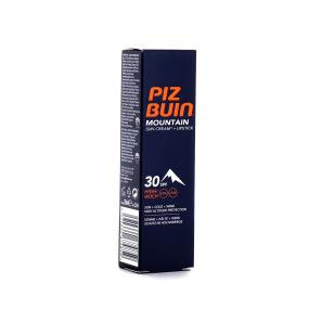 Piz Buin Mountain Crème Solaire Visage avec Stick Lèvres