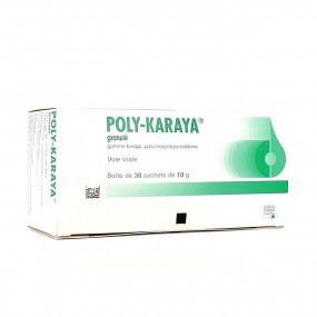 Poly-Karaya granulés 10g -30 sachets