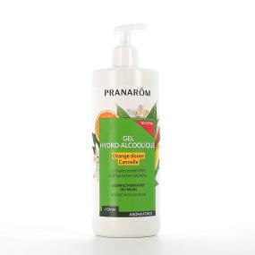 Pranarom Gel hydro-alcoolique Orange douce Cannelle