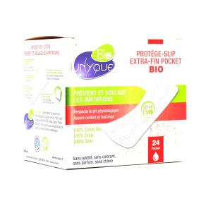 Protège-slip pocket 100 % coton bio boîte de 24