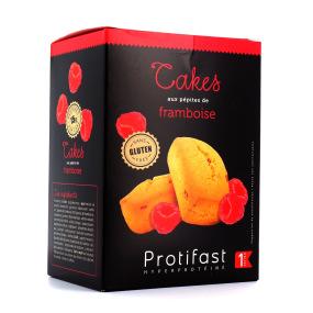 Protifast Cakes aux Pépites de Framboise 5 sachets