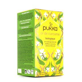 Pukka Thé Vert Or de Curcuma BIO