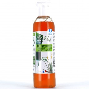 PURALOE - Gel douche bio à l'Aloé Véra - 500 ml