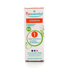Puressentiel Géranium BIO huile essentielle 5 ml