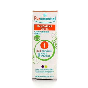 Puressentiel mandarine verte bio huile essentielle 10 ml