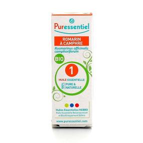 Puressentiel romarin à camphre bio huile essentielle 10 ml