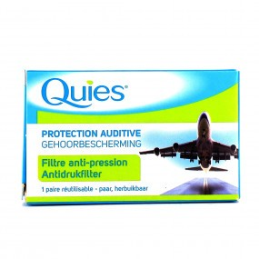 Quies Protection Auditive Avion Bouchon Oreilles Adultes