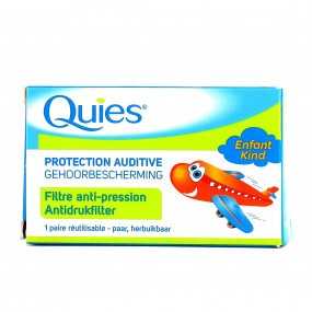 Quies Protection Auditive Avion Bouchon Oreilles Enfants