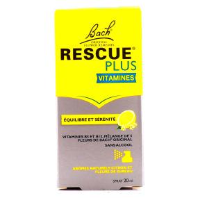 Rescue plus vitamines spray équilibre et serenité