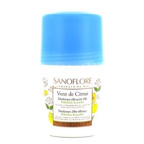 Sanoflore Vent de Citrus Déodorant Roll-on 50ml