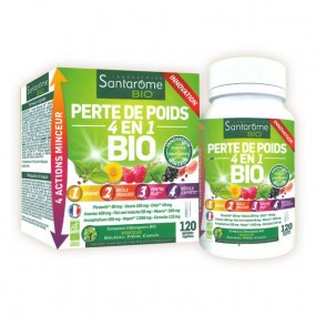 Santarome Perte de Poids 4-en-1 BIO