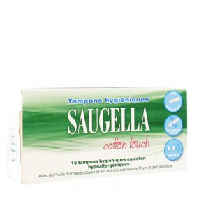 Saugella Cotton Touch Tampons Hygiéniques Normal x16