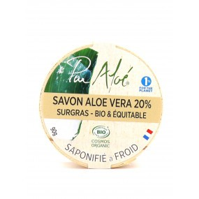 Savon Aloé Vera 20% Surgras Bio & Équitable
