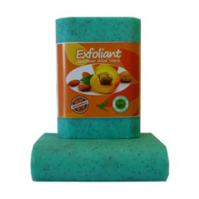 Savon exfoliant aloe vera exfoliant 100g - La Savonnerie Antillaise