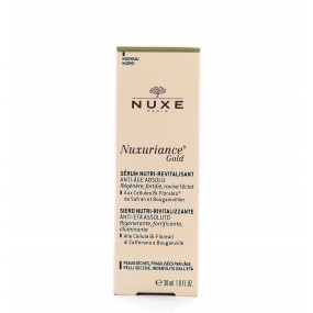 Sérum Nutri-Revitalisant Anti-Age Absolu Nuxuriance Gold en 30 ml