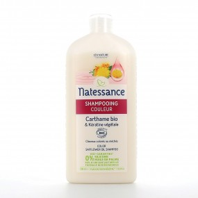 Shampooing couleur - Carthame BIO & Kératine végétale