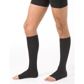 Sigvaris Men essentiel microfibre (urban) Chaussettes pied ouvert classe 2