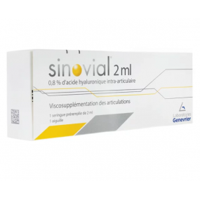 Sinovial 0,8% Acide Hyaluronique Intra-Articulaire