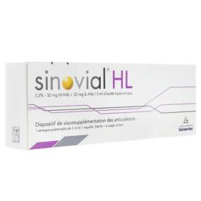 Sinovial HL 3,2% viscosupplémentation