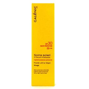 Soins Soleil Fluide Ultra-Léger Visage SPF 30 en 40 ml