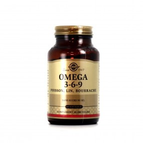 Solgar Omega 3-6-9 x60 Gélules