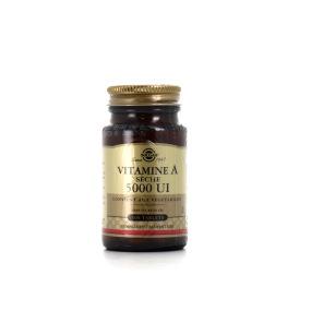 Solgar Vitamine A sèche 5000 UI