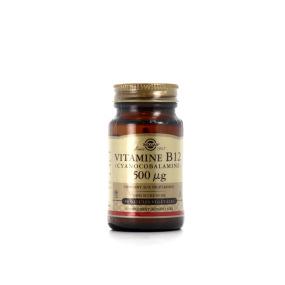 SOLGAR Vitamine B12 (Cyanocobalamine) 500µg