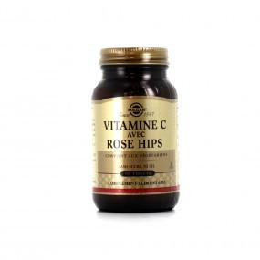 Solgar Vitamine C avec Rose Hips