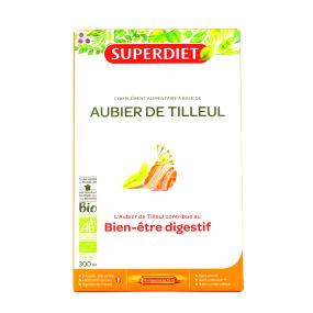 Super Diet Aubier de Tilleul Bio 20 Ampoules