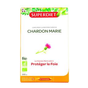 Super Diet Chardon Marie Bio 20 Ampoules