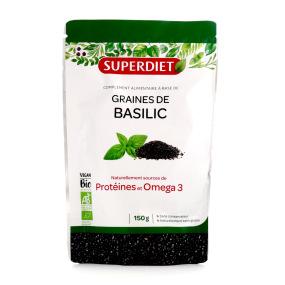 Super Diet Graines de Basilic BIO