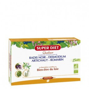 Super Diet Quatuor Bio Bien-Être du Foie 20 Ampoules