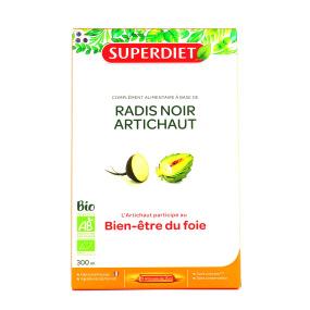 Super Diet - radis noir artichaut bio - 20 ampoules