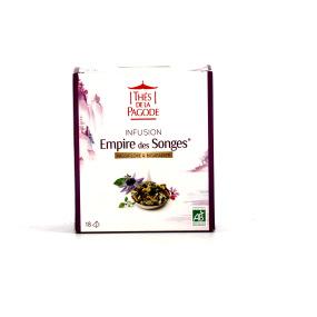 Thé de la Pagode - Empire des songes - 18 sachets Pagode