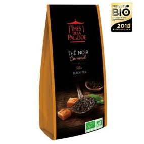 Thé de la Pagode - Thé noir caramel Bio - Vrac (en feuilles) 100g