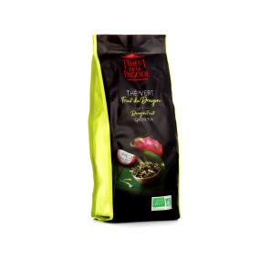 Thé de la Pagode - Thé vert fruit du dragon Bio - Vrac (en feuilles) 100g