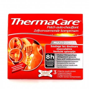Thermacare Patch Auto-Chauffant Multi-Zones 3 Patchs