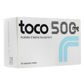 Toco 500 mg 30 capsules